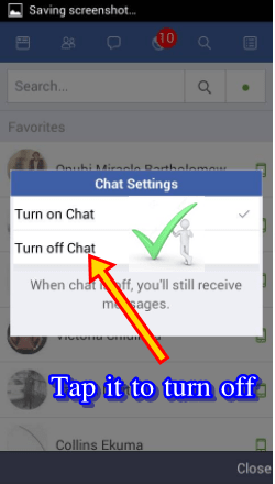 How to Hide Online Status on Facebook Messenger Android - Appear Offline on FB