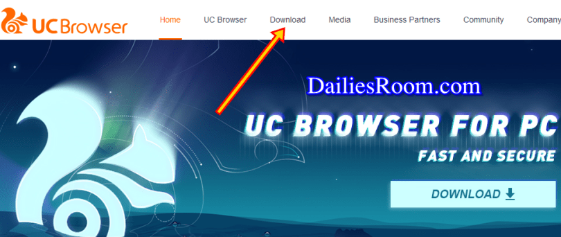 UC Browser For PC /Laptop Download Windows 10/8/7
