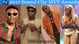 SOUNDCITY MVP Awards Winners Full List - Davido Wins 3 Awards