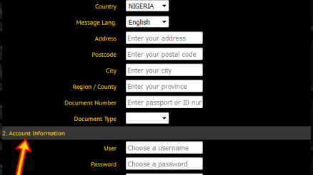 www.360bet.com.ng Registration - 360Bet Mobile Sign Up - 360Bet Login