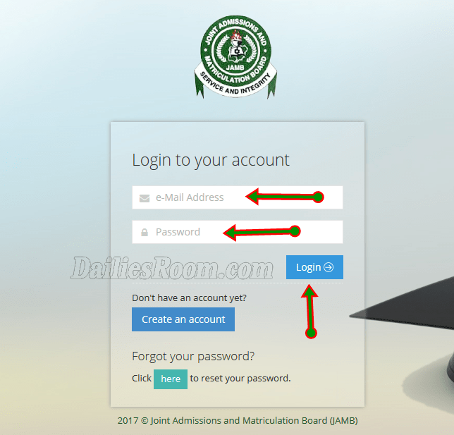 www.jamb.org.ng/eFacility - 2018 JAMB Mock Result Checking Process