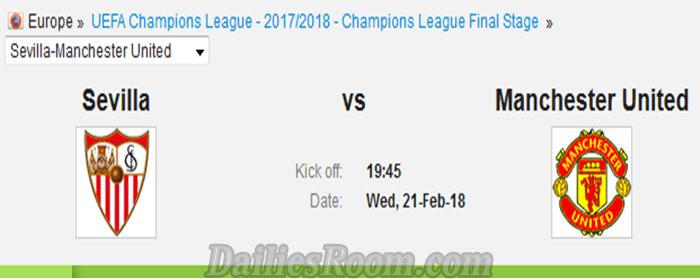 Sevilla Vs Man United Match Prediction