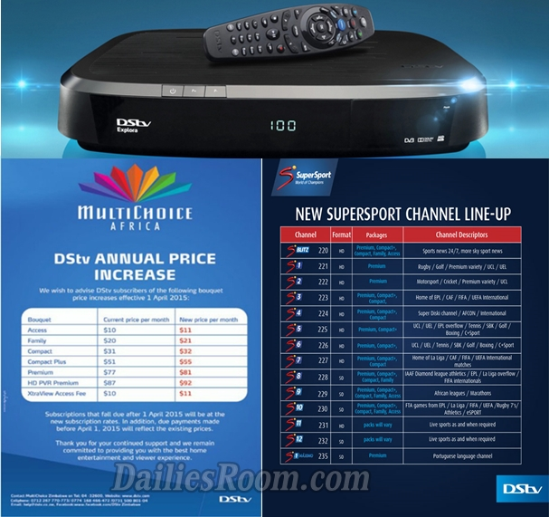 DSTV Subscription Prices 2018, Subscription Packages & Channels In Nigeria