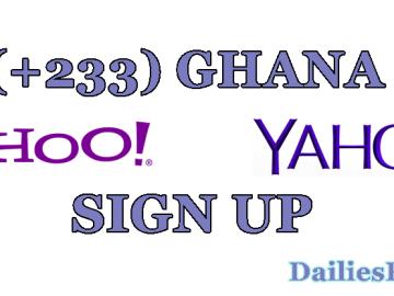 How To Create Yahoo Mail Ghana Account | +233 Yahoo Mail Signup Portal