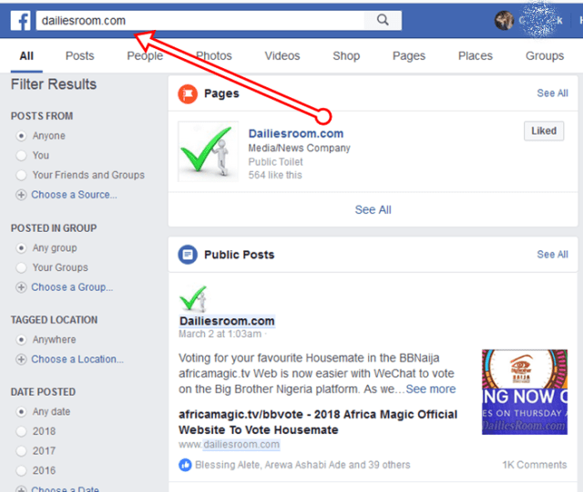 How to Maintain Facebook Search Referrer on WordPress
