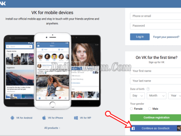 How to Sign Up for VK With No Personal Phone Number verification