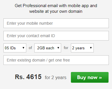 www.rediffmailpro.com Account Sign Up - Rediffmail NG Registration