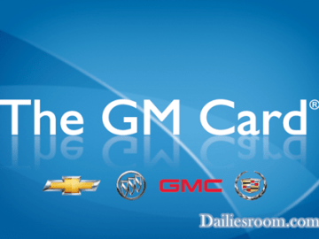 www.gmcard.com My Account Sign in Page | GM Card Member Login