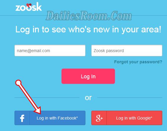 Zoosk sign in with Facebook   Login Zoosk Online Dating Site & Dating App