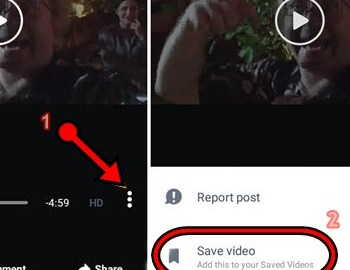 How to Save/Download Facebook Videos or Posts