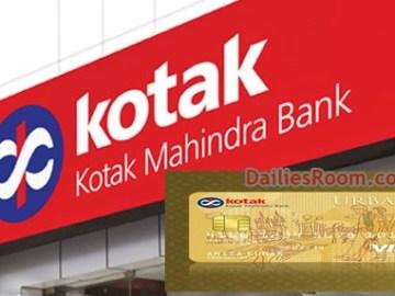 Kotak Credit Card Online Application   Kotak Credit Card Login