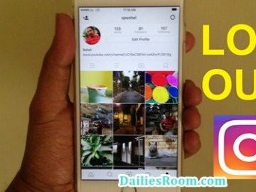 How To Logout Instagram On Android/iPhone/Web - Instagram Logout Link