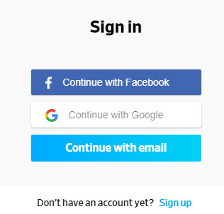 Dailymotion.com Sign in Page   Dailymotion Login With Facebook Account