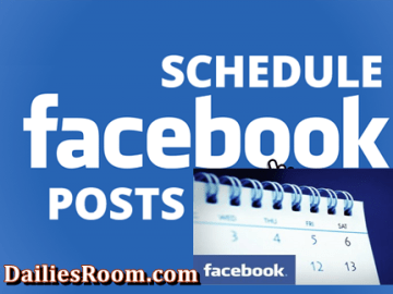 How To Schedule Facebook Post For Your Page - www.facebook.com