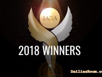 Full List Of IARA Awards 2018 Winners - IARA Best Actor, Best Actress