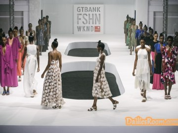 2018 GTBank Fashion Weekend Schedule: fashionweekend.gtbank.com