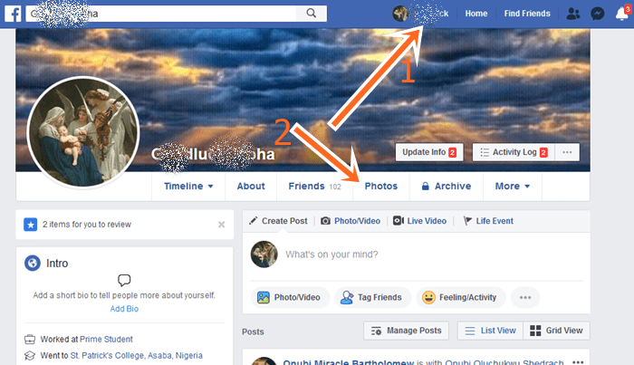 How to delete photo albums from facebook