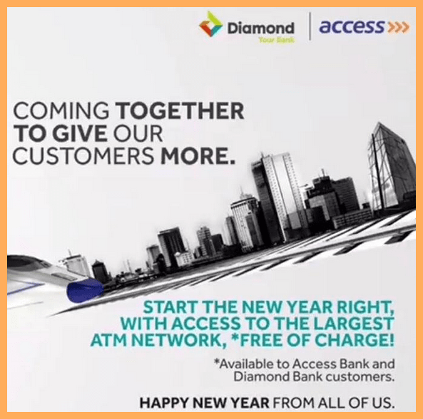 GOOD NEWS: Access and Diamond Bank New Update for All Customer