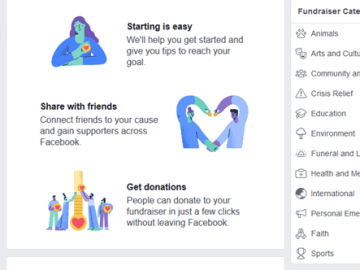 Facebook Donation Button for Charitable Fundraisers - Facebook charity