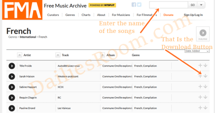 Top France Music Download at Freemusicarchive.org - How To Download