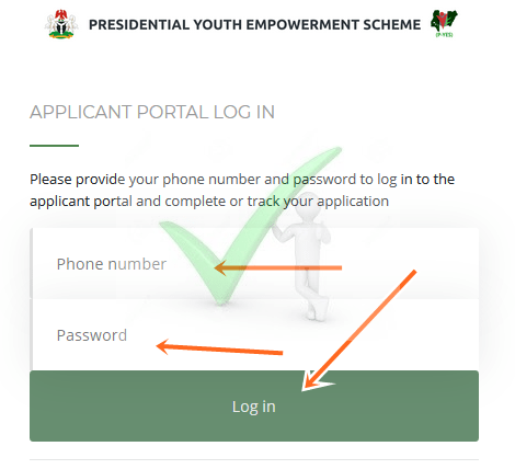 www.p-yes.gov.ng Registration Form Portal for P-yes Recruitment 2019