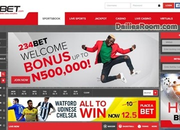 Steps To 234bet Registration For High Odd Betting Online & Cashout