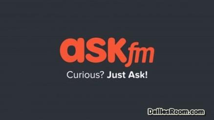 Askfm Sign In Portal: Login Askfm With Social Media Network