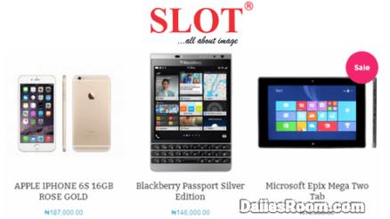 Slot.ng Online Store: SLOT Registration & Login To Buy Phones, Laptops