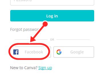 www.canva.com/login - Canva Login With Facebook Account