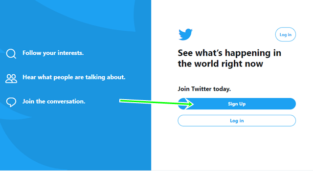Sign Up For Twitter Free & Set Up Twitter Account For Business