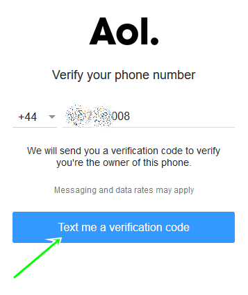 AOL SignUp