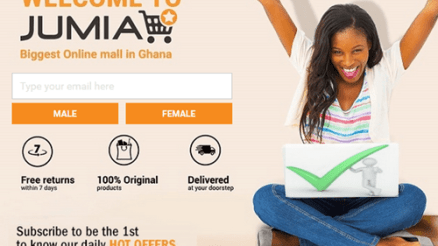 www.jumia.com.gh Sign Up - Jumia Online Shopping Ghana Account