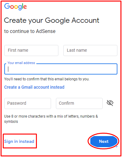 How To Create Google Adsense Account For Website Monetization