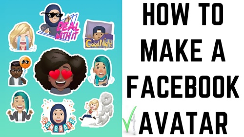 How To Make Facebook Avatar Quickly For Profile Picture
