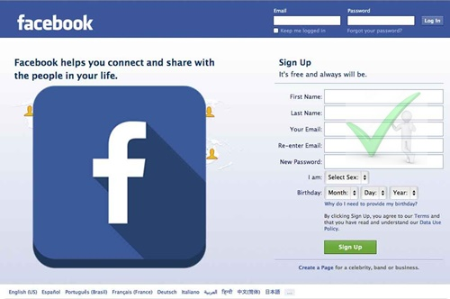 Step-by-step Guide To Creating A Facebook Account - FB.com Sign Up