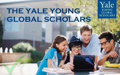 2021 Yale Young Global Scholars Program – Application & Requirements
