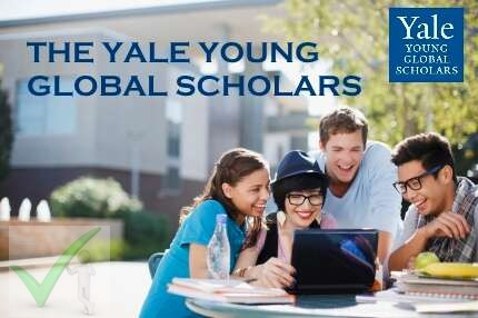 2021 Yale Young Global Scholars Program - Application & Requirements