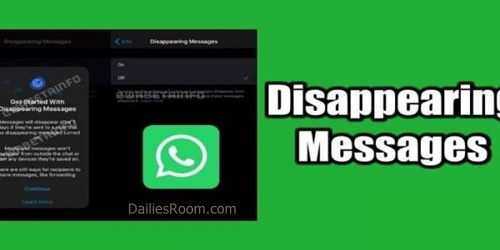 How To Turn WhatsApp Disappearing Messages On or Off