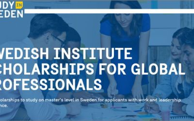 APPLY: 2021 Swedish Institute Scholarship for Global Professionals (SISGP)