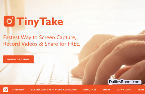 TinyTake Review: TinyTake Download For Windows - TinyTake Set Up