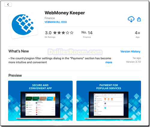 Webmoney App Download: Webmoney For Mobile Online Payment