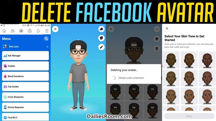 How To Delete Facebook Avatar | FB Avatar Deletion Page – Remove Facebook Avatar