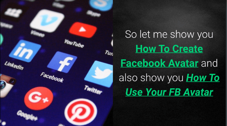 VIDEO: How To Create and Use Facebook Avatars for iOS or Android Device (YouTube Video)