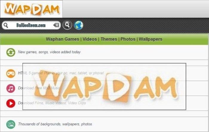 Wapdam Download: Waptrick Music, Videos, Games, Themes – Wapdam Official Site