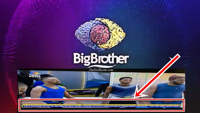 How To Write On BBNaija Screen – Big Brother Naija Season 6 Tv Comments