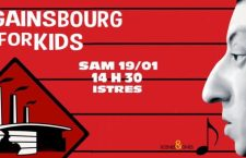 [PREVIEW] GAINSBOURG FOR KIDS – 19.01 – L'Usine – Istres (13)