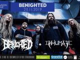 [LIVE REPORT ] BENIGHTED + INHUMATE – 23.11 – La Maison Bleue – Strasbourg (67)