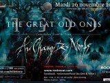 [Preview]  The Great Old Ones + Au Champ Des Morts-26/11-Rock'n'Eat-Lyon (69)