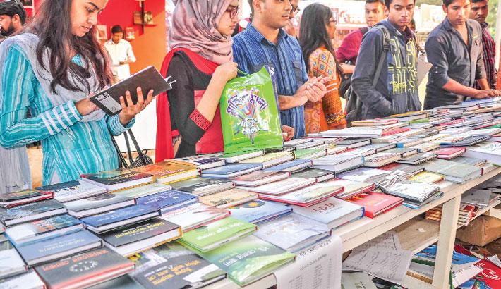 Image result for Ekushey Book Fair