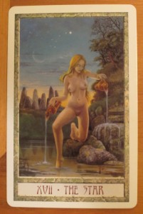 druidcraft tarot the star